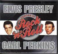 ELVIS PRESLEY & CARL PERKINS HEROES OF ROCK 'N' ROLL 2CD