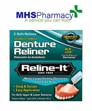 Dentemp D.O.C  DOC Reline-It Advanced Denture Reliner 2 Repairs