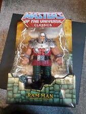 Ram Man MOTU Classics, Red, MOTUC, MINT, MOC, MISB, New, RamMan (from He-Man)