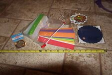Scrapbooking embellishments die cut out shapes tags scallop circles faces lot