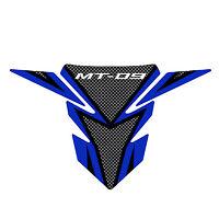 YAMAHA MT-09 TANK PAD CARBON/BLUE #1RC-FTPAD-AU-BL