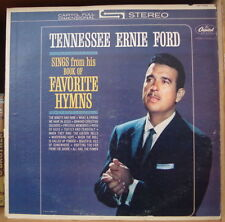 TENNESSEE ERNIE FORD SINGS FROM HIS BOOK OF FAVORITE HYMNS US PRESS LP CAPITOL