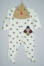 Carters Just One You Thanksgiving Turkey Sleeper (SIZE 3 Months) NEW!