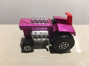 Matchbox Superfast VERY RARE RED SEAT No.21 Mod Tractor Nr Mint Condition