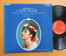 SB 6780 Verdi Luisa Miller Highlights Anna Moffo Bergonzi Verrett RCA Stereo NM