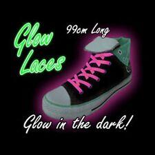 Rosa Brillan En La Oscuridad cordones 99 Cm, llenador de la media, Zapatos Para Niños Accesorios