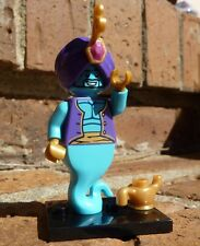LEGO Minifigures 8827 Series 6 Genie magic lamp w stand, checklist & opened pack