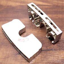 Chrome Spark Plug Head Bolt Covers For Harley Dyna Softail Twin Cam 99-17