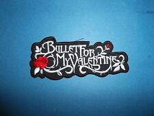 `BULLET FOR MY VALENTINE` SEW OR IRON ON PATCH