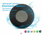 Waterproof Bluetooth Wireless Handsfree Mic Suction Shower Speaker Car Stereo