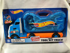 Hot Wheels HW Kids Lights and Sounds Tool Kit truck BRAND NEW