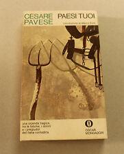 1970c = PAESI TUOI = CESARE PAVESE..MONDADORI.EDITORE.ETNA