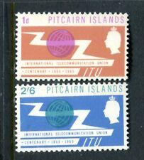 1965 Pitcairn Island Centenary of International Telecommunications Union Muh