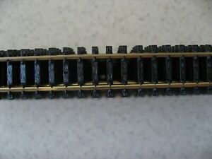 New Lot 20 Pieces of Atlas 2500 N Scale Super-Flex Track - Black Ties