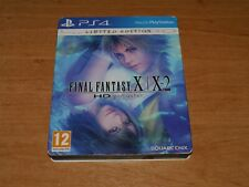 Final fantasy X & X-2 HD remaster Limited edition Steelbook PS4 Playstation 4