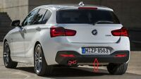 New Genuine BMW 1 Series F20 F21 M Performance Rear Bumper Diffuser 8060304 OEM