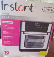 Instant Vortex Plus 7-in-1 Air Fryer, Toaster Oven, and Rotisserie Oven - 10QT