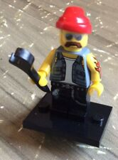 LEGO Minifigure Motorcycle Mechanic Minifigures Series 10 71001 Complete