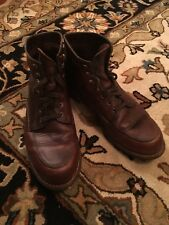 Wolverine 1000 Mile Brown Leather Boots Size 10.5D