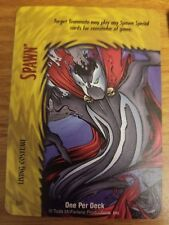 Marvel Overpower Image Spawn Living Costume NrMint-Mint Card