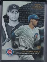 🔥💎 NICO HOERNER  2020 Topps Gold Label BLACK CLASS 3 SP RC Chicago Cubs #17