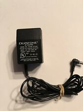 Duofone Direct Plug-In Power Supply Ac Adapter 9Vdc model# 43-564 Et-440
