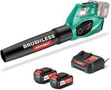 Soffiatore a batteria Potente Brushless Hychika, Professionale, 2 velocità