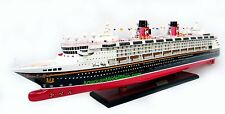 "DISNEY WONDER Ocean Liner Cruise Ship Model 40"" - Handcrafted Wooden Model NEW"