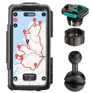 Samsung Galaxy waterproof case + bike scooter mirror stem mount - Ultimateaddons