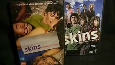 Skins - DVD's  Series 1 and 2 Complete - 6 Discs - Channel 4 - TV