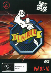 Ultimate Fighting Championship Volume 1-10 - UFC DVD Brand New & Sealed
