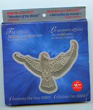 Weeda Canada Thematic Collection #89, 1999 Millennium Keepsake Collection CV$22+