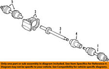 VOLVO OEM 01-09 S60 Front Drive-CV Shaft Axle Assy 8252033
