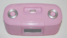 iLuv iMM153PNK-01 Audio System with Dual Alarm Clock for  iPhone - Pink