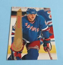 1994/95 Pinnacle Hockey Brian Noonan Card #131***New York Rangers***