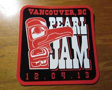 Vancouver Lightning Bolt *Tour Sticker* 04 December 2013 Rogers Arena