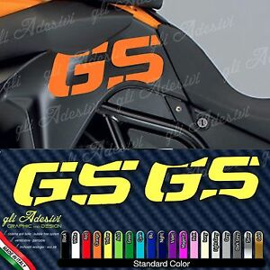 2 Adhesives Hip Tank Motorcycle BMW F 800 GS Adventure 19 Colours