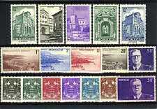 1943 MONACO ANNEE COMPLETE TIMBRES POSTE  xx