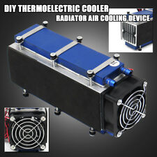 12V 567W 8-Chip Thermoelectric Peltier Air Refrigeration Radiator Cooling System