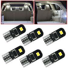 10pcs T10 194 168 W5W SMD LED Car HID CANBUS Error Free Wedge Light Bulb White