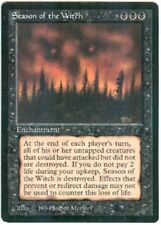 SEASON of the WITCH  X1  MAGIC Mtg THE DARK - LIGHT to MODERATE PLAY (LP/MP)