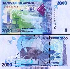 UGANDA - 2000 shillings 2019 FDS UNC