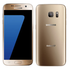 """Gold 5.1"""" Unlocked Samsung Galaxy S7 G930V 32GB 4G LTE Wi-Fi Android Smartphone"""