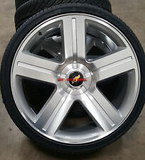 26 inch Wheels & Tires Texas Edition Style Silver Rims Fit Chevy Silverado GMC