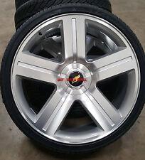 26 inch Wheels & Tires TPMS Texas Edition Silver Rims Fit Chevy Silverado GMC