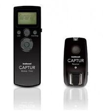 Hähnel Captur Timer Set Radio disparador remoto y receptor para canon