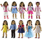 """New 5 Set Doll Clothes for 18"""" inch American Girl Doll Casual Wear Outfit"""