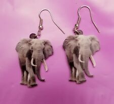 African Elephant lightweight fun earrings jewelry Free Shipping! Valentine's �