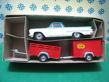 Extremely Rare Dinky Toys  448  Chevrolet Pick-Up  and Trailer   Superbe/ MIB