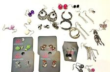 Jewelry Lot Of 52 Pieces Of Costume Jewerly All New Condition Plus Stand